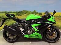Kawasaki ZX6R ZX636 Ninja 2013 **Low mileage green Beast!**