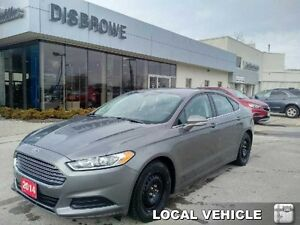 2014 Ford Fusion SE   Local Trade, Snow  All-Season Tires