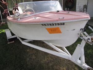 older motor boat