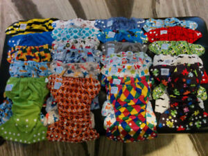 Cloth Diapers lot Applecheeks, AMP, Bumgenius and Piddly Winx