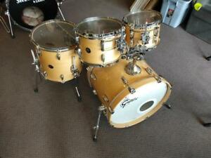 Gretsch Renown Natural Maple Shell Kit 10-12-14ft-20 érable - used-usagé