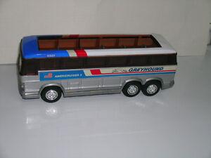 Metal Greyhound Bus / Americruiser 2 / Buddy L  / 11 inches long Kitchener / Waterloo Kitchener Area image 2