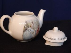 Wedgwood Peter Rabbit Teapot London Ontario image 3