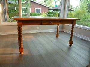 Mennonite Pine Harvest Table