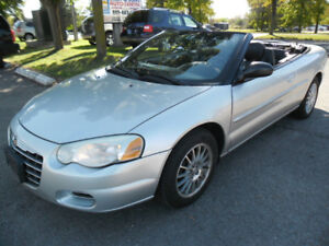 2005 Chrysler Sebring Convertible***WOW 159K + Clean NO ACCIDENT