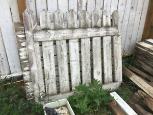 old fence for free