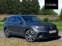 2018 Volkswagen Tiguan 2.0 TDI R-Line DSG (s/s) 5dr Automatic SUV Diesel Automat