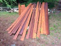 Cedar Siding, New, Natural Stained Sykens 1 & 23