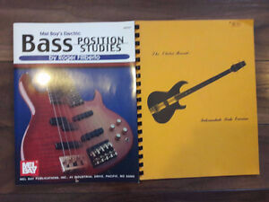 NEW  Music Books (Bass, Trumpet, Percussion)