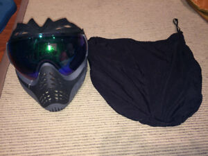 Paintball face mask