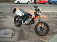 AJS JSM50 Learner Legal 50cc Moped 6 Speed 2 Stroke New Unregistered