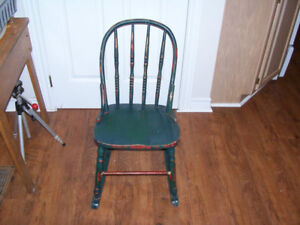 Antique Child Size Bass River Rocking Chair