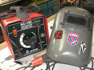 PORTABLE WELDER,AND CUTTING TORCH AND GAGES