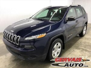Jeep Cherokee Sport V6 4x4 Ensemble temps froid 2016