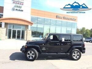 2017 Jeep Wrangler Unlimited Sahara  DEALER CERTIFIED/ETESTED, A