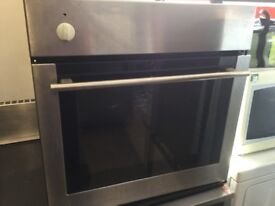 Untested Single Electric Oven Stainless Steel