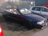 2004 Volvo C70 2.0 auto sports convertible private plate (k14k dj)