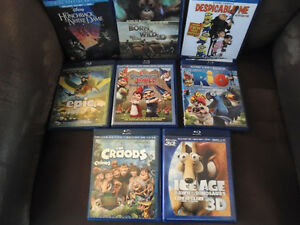 Selected CHildren's Blu-Rays