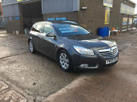 2009 59 Vauxhall Insignia 2.0CDTi 16v 160ps SRi TURBO DIESEL ESTATE,WITH FULL