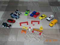 CARS AND ROAD SIGNS...HOT WHEELS, MATCHBOX AND MORE