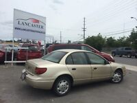 2002 Saturn 4cylinder auto A/C 3month extended warranty included