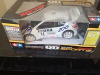 Remote control car - Peugeot 206 WRC