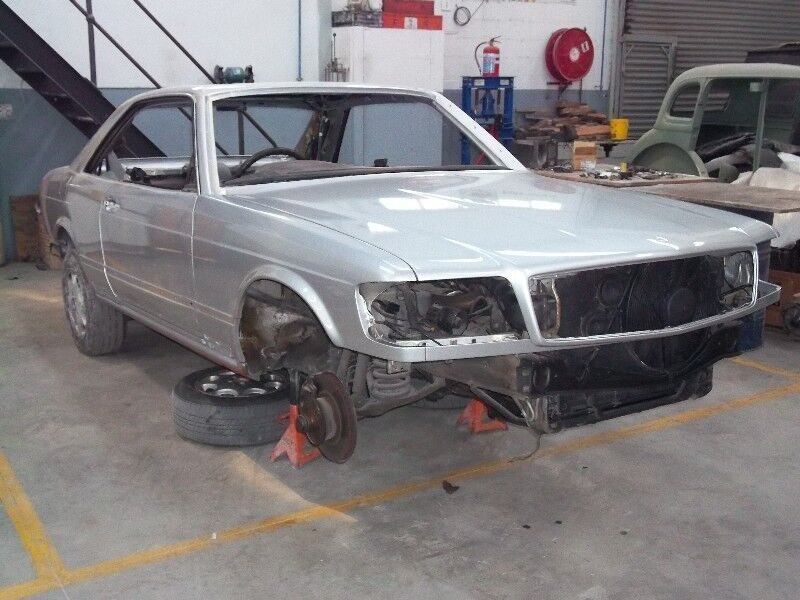 mercedes coupe W126 spares