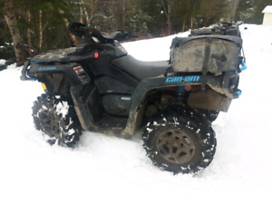 2016 can-am 650 outlander