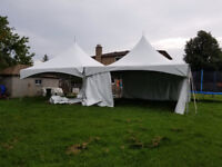 Tent chairs tables rental