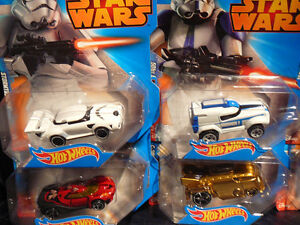 8 HOT WHEELS STAR WARS CARS