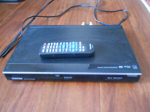 Toshiba DVD player + remote, nearly new