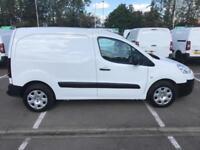 Peugeot Partner L1 850 SE 1.6 92PS EURO 5 (tow bar) DIESEL MANUAL WHITE (2014)