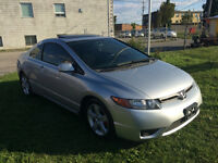 2008 Honda Civic COUPE 2 DOOR SUNROOF/ALLOYES SEFATY AND ETEST