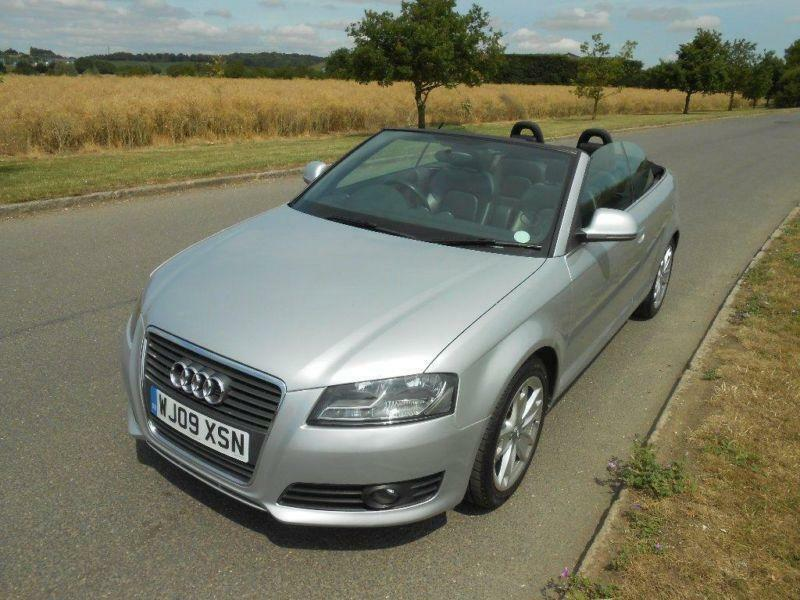 2009 audi a3 cabriolet 2 0 tfsi sport s tronic 2dr in brentwood essex gumtree. Black Bedroom Furniture Sets. Home Design Ideas