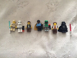 LEGO Star Wars - 10123 - Cloud City - Figs, Pieces, Instructions