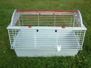 Cage living world pour lapins cochon d'inde cobayes poussins