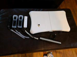Wii Controllers and Balance Board