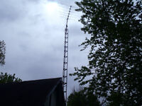 44' TV tower with antenna