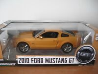 2010 FORD MUSTANG GT Greenlight scale 1/18 diecast