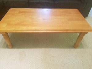 Coffee table (with end tables)