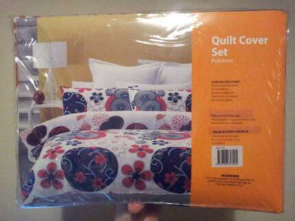 King Bed Quilt Cover Set Joondalup Joondalup Area Preview