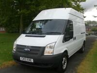 13 FORD TRANSIT 125 T350 LWB HIGH ROOF (BRAND NEW CLUTCH) FSH