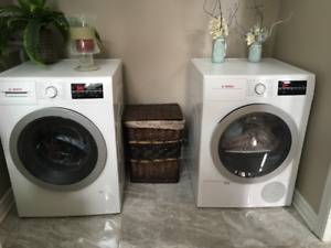 For sale. BOSCH washer and ventless dryer.