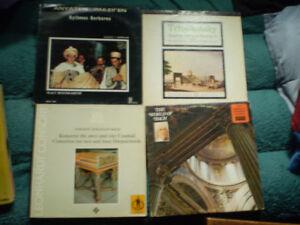vinyl music classic tchaikovsky/bach/mozart/djinns/humoris