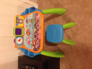 as good as new v tech play and learn activity table