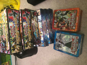 Yugioh boxes- for collections