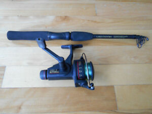 Canne moulinet a voayge,Mitchell neuf, Travel fishing rod reel