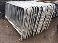 🔩Pedestrian loose leg barriers smartweld 2.2m X 1.1m ~ Crowd Control Fencing