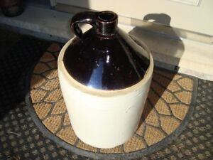 VINTAGE PORCH DECOR 5 GAL CROCKERY JUG