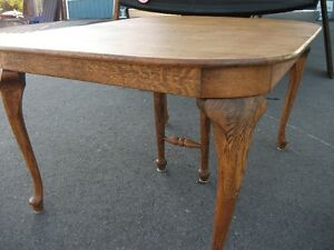 Antique Oak Extension Table Belleville Belleville Area image 4
